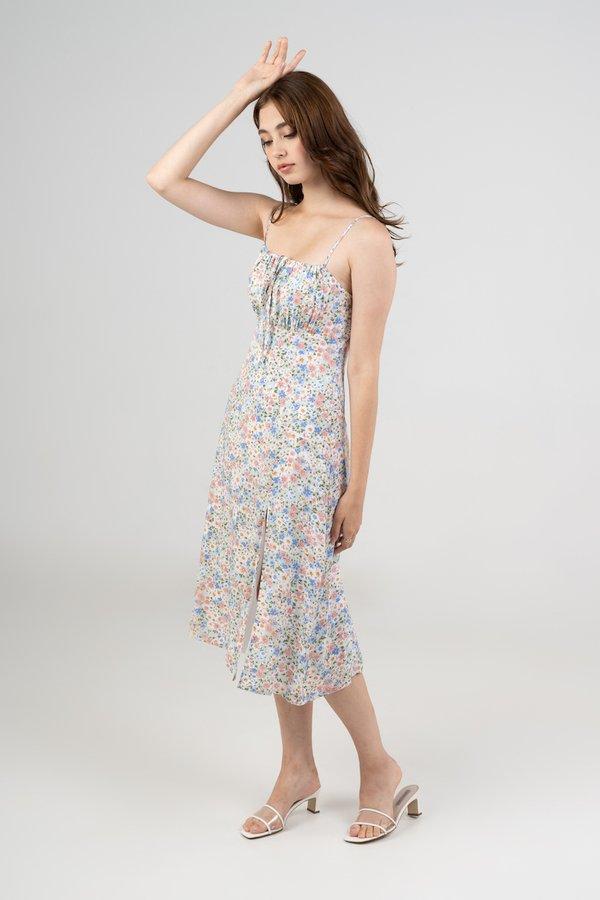 Charlotte Dress in Pastel Floral