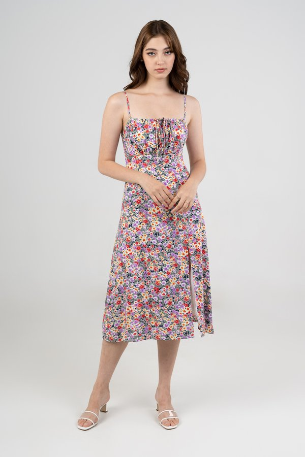 Charlotte Dress in Bight Floral