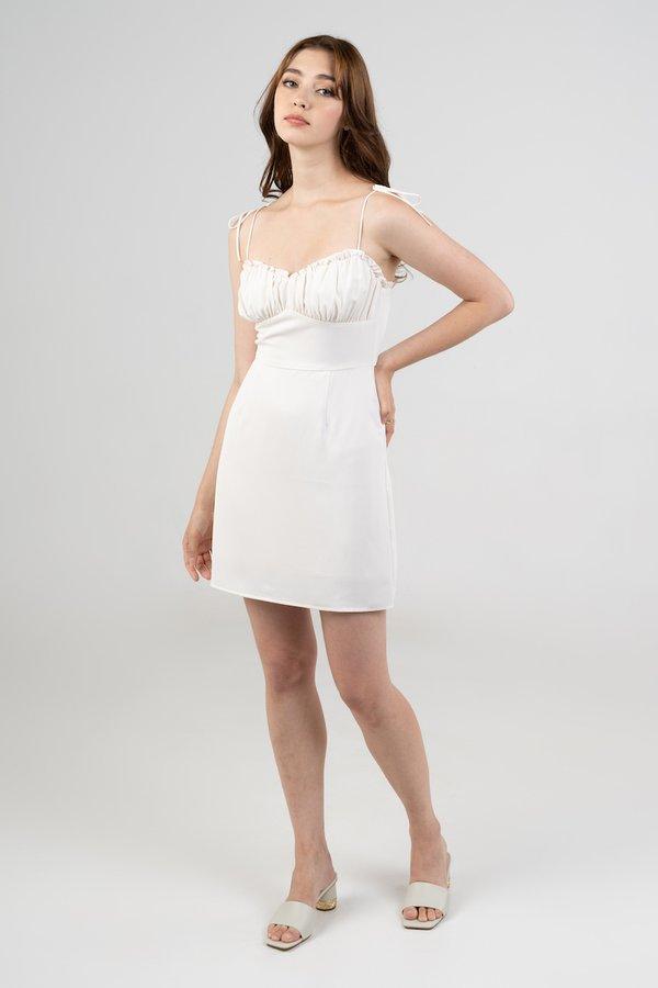 Gianna Dress in Cream
