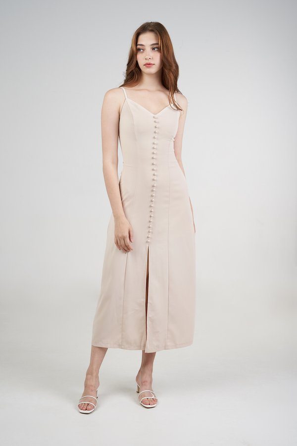 Lenny Dress in Cream