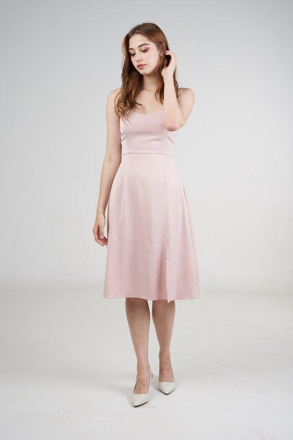 Margot Dress in Blush