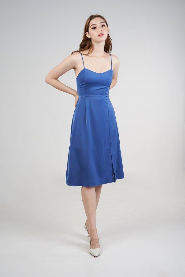 Margot Dress in Royal Blue