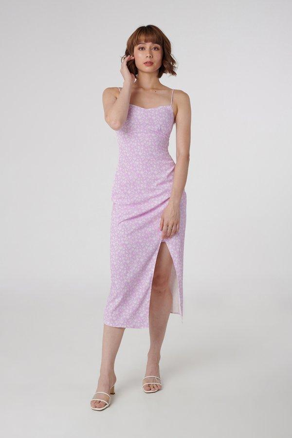 Esme Dress in Pink Floral