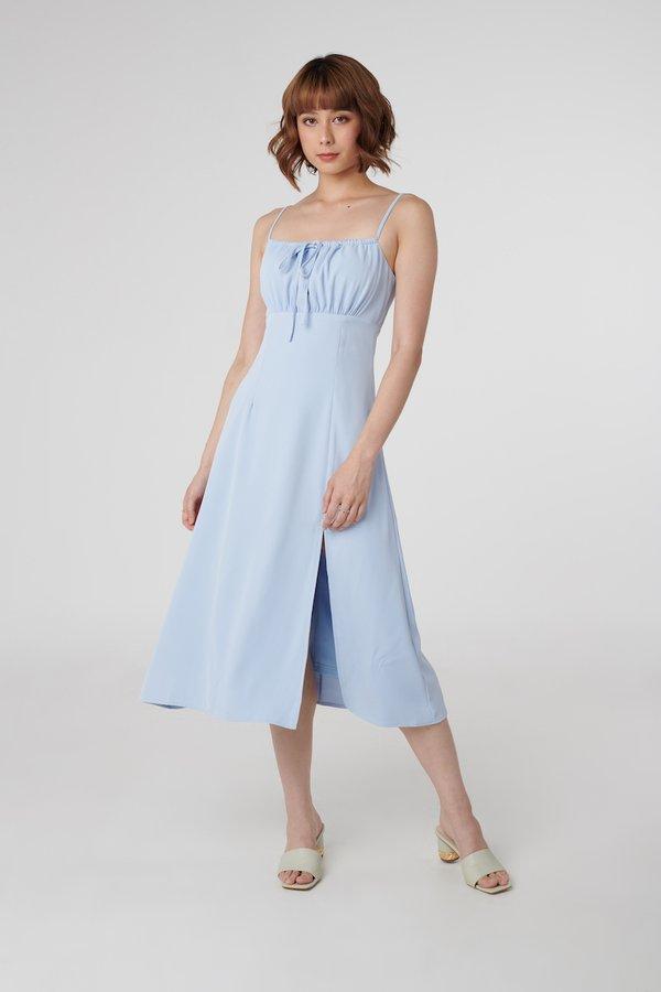 Charlotte Dress in Sky