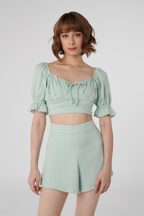 Astrid Top in Mint