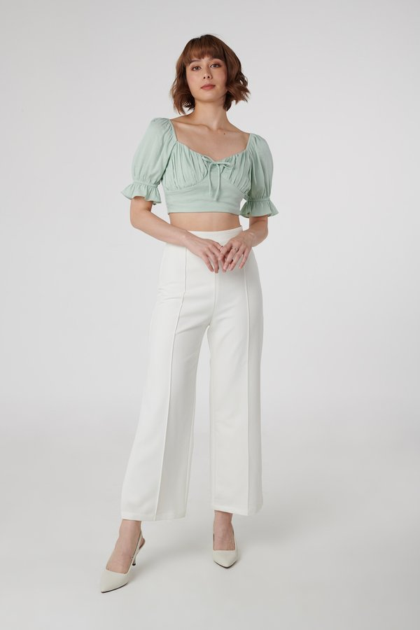 Hathaway Pants in White